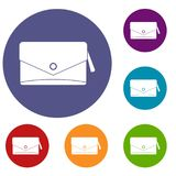Small bag icons set Stock Images