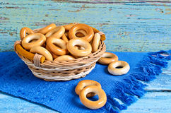 Small bagels Stock Image