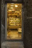 Small bakery in Venice Royalty Free Stock Images