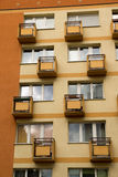 Small balconies Stock Images