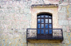 Small balcony, Mexico Royalty Free Stock Photography