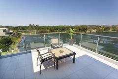Small balcony Royalty Free Stock Images