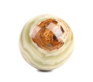 Small ball of jasper. Royalty Free Stock Photography