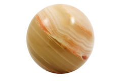 Small ball of jasper Stock Photography