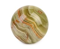 Small ball of jasper royalty free stock photos