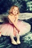 Small ballerina Royalty Free Stock Photo