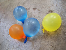 Small balloons for holi festival Royalty Free Stock Image