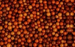 Small balls Stock Image