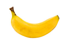 Small banana isolated Royalty Free Stock Image