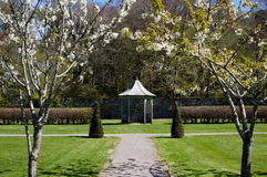 Small bandstand. In park during spring Royalty Free Stock Photo