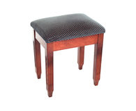 Small Bar Stool Isolated On White Stock Images