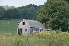 Small Barn Stock Photo