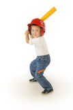 Small baseball player Stock Photos