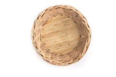 Small Basket Empty Stock Photos