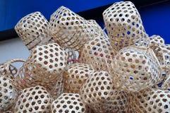 Small baskets Royalty Free Stock Photo