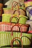 The small baskets in largest, Royalty Free Stock Photo