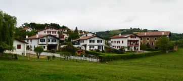 Small Basque village Royalty Free Stock Photo