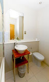 Small bathroom Royalty Free Stock Images