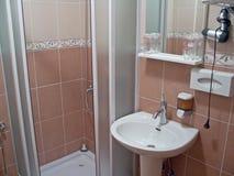Small bathroom Stock Image