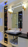 Small bathroom fot.4 Royalty Free Stock Images