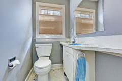 Small bathroom interior in old house Royalty Free Stock Images