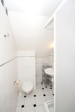 Small bathroom royalty free stock photos