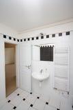 Small bathroom stock photo