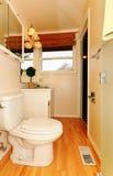 Small bathroom with window Stock Image