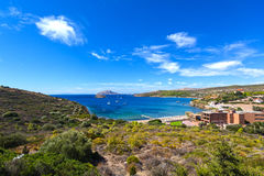 Free Small Bay At Cape Sounion Stock Images - 77780434