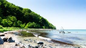 Small bay. At baltic sea Stock Photography