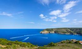 Small bay of Cala Montgo, costa brava, Spain Royalty Free Stock Image
