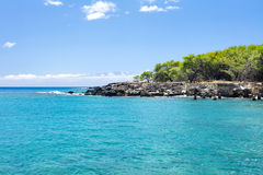 Small bay in Hawaii Stock Images