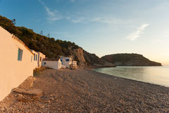 Small bay in Javea Stock Photos