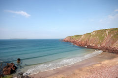 A small bay in Pembrokeshire Stock Photography