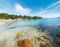 Small beach in Costa Smeralda Royalty Free Stock Photography