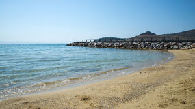 Small beach in Greece Royalty Free Stock Photography