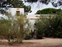 Small Beach House On Ilha De Tavira Portugal royalty free stock images