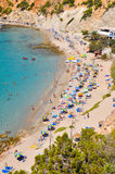 Small beach at Ibiza, Spain Royalty Free Stock Photography