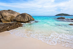 Small beach in Thailand Stock Images