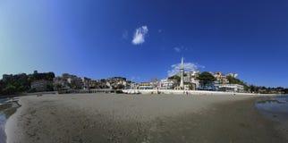 Small beach Ulcinj Stock Image
