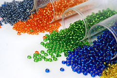 Small beads Royalty Free Stock Image