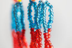 Small beads with different colors Stock Photography