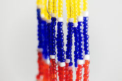 Small beads with different colors Royalty Free Stock Image
