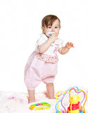 Small beautiful baby girl Royalty Free Stock Images
