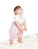 Small beautiful baby girl Royalty Free Stock Image