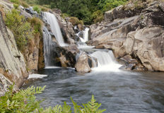 Small and beautiful cascade. Stock Photography