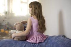 The small beautiful girl Royalty Free Stock Photo