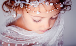 Small beautiful girl Royalty Free Stock Photo