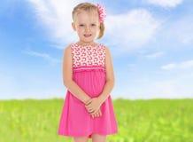 Small beautiful girl Royalty Free Stock Photo