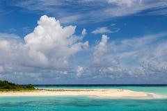 A small beautiful island Royalty Free Stock Photo